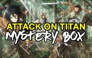 Attack On Titan Anime Mystery Box | Anime Mystery Box | Fast Shipping (Limited Quantities)