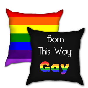 "[BTS] - Born This Way: ""GAY"" PRIDE Pillow"