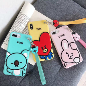 [BTS] BT21 TATA COOKY KOYA iPhone Case - Kpop FTW