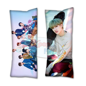 bang chan stray kids pillow