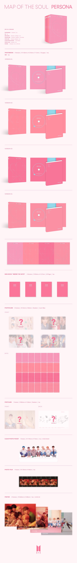 [BTS] MAP OF THE SOUL: PERSONA Album - Kpop FTW