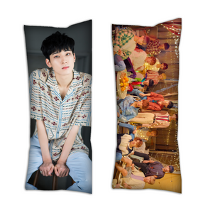 wonwoo seventeen pillow