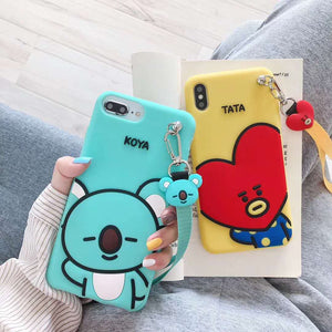 [BTS] BT21 TATA COOKY KOYA iPhone Case