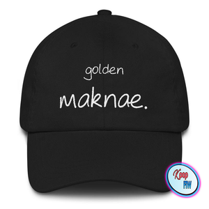 [BTS] GOLDEN MAKNAE LOW PROFILE HAT