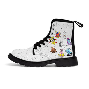 [BTS]  BT21 Boots - Back To School BTS Army Kpop Shoes - Kpop FTW