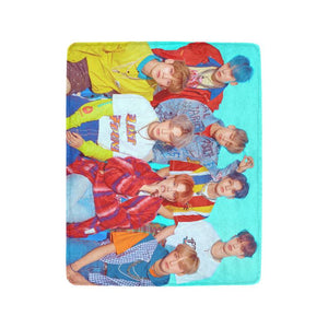 [ATEEZ] Treasure Ep 3 Illusion Blanket - Kpop FTW