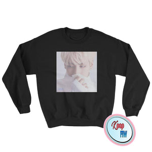 "SHINEE - JONGHYUN ANGEL Crew Neck Sweater/""Always Be With You"" Jonghyun Sweater"
