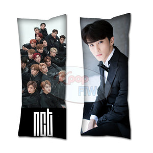 mark nct body pillow kpop