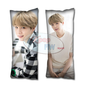 [BTS] White Day Suga Body Pillow Style 2 - Kpop FTW