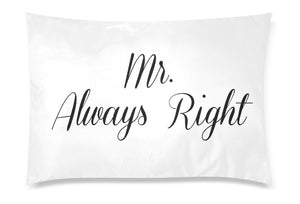 Mr Right Mr Always Right, Gay Wedding Gift gay couple pillow cases Same Sex gay anniversary gift LGBT couple gifts, Two Grooms - Kpop FTW