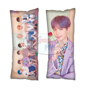 Kpop BTS Map of the Soul: Persona Suga Body Pillow
