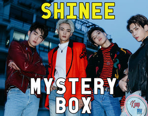 SHINEE Mystery Box DELUXE | Kpop Mystery | Shinee Kpop Mystery Box Grab Bag | Kpop Gift | Surprise Box | Fast Shipping | Christmas Gift - Kpop FTW