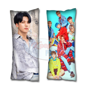 Kpop Ateez Treasure One to All Wooyoung Body Pillow // Kpop Body Pillow // Atiny - Kpop FTW