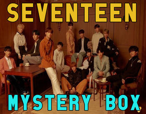 SEVENTEEN Mystery Box DELUXE | Kpop Mystery Box | SVT Kpop Mystery Box Grab Bag | Gift for Carats |  Christmas Surprise Box | Fast Shipping - Kpop FTW