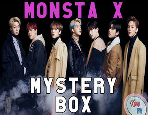 MONSTA X Mystery Box DELUXE | Kpop Mystery | Monsta X Kpop Mystery Box Grab Bag | Christmas Gift for Monbebe | Surprise Box | Fast Shipping - Kpop FTW