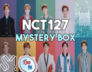 NCT 127  Mystery Box DELUXE | Kpop Mystery | NCT Kpop Mystery Box Grab Bag | Nct Surprise Box | Fast Shipping Kpop Gift | Christmas Gift - Kpop FTW