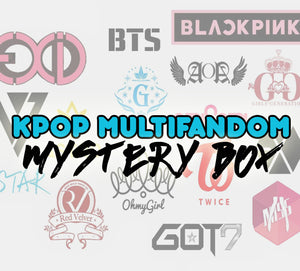 Deluxe KPOP Multifandom Mystery Box | Kpop Mystery Box | Christmas Gift for KPOP Fans  | Surprise Box | Fast Shipping - Kpop FTW