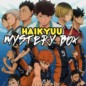 DELUXE Volleyball Anime Mystery Box | Anime Grab Bag | Karasuno | Nekoma | Aoba Josai | Christmas Gift Anime Fans | Fast Shipping | - Kpop FTW