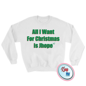 "[BTS] ""All I want for Christmas is JHope' Sweater - Kpop FTW"