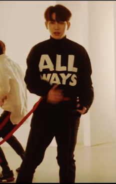 """ALL WAYS"" GOT7 Jinyoung Crew Neck Sweater - Kpop FTW"
