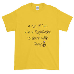 """A CUP OF TAE"" Tee - Kpop FTW"
