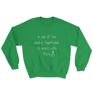 """A Cup of Tae"" Crew Neck Sweater"