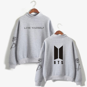 BTS  Love Yourself Flower Logo Sweater