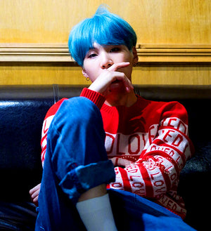 "BTS ""Loved"" SUGA Sweater from the DNA MV"
