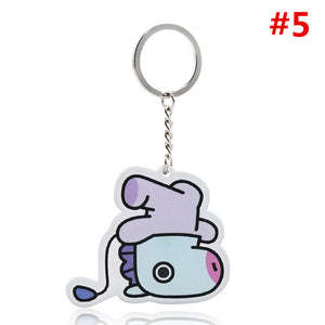 BTS BT21 Character Keychain - Kpop FTW
