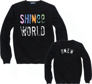 SHINee KPOP Crew Neck Sweater FREE SHIPPING