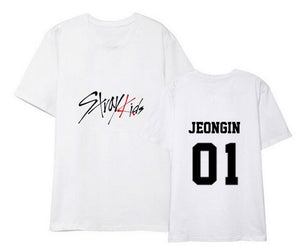 Stray Kids Logo T Shirt