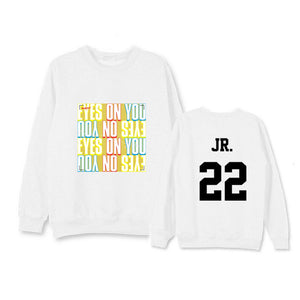 "GOT7 ""EYES ONYOU"" Crew Neck Sweater - Kpop FTW"