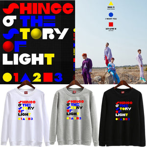 SHINee 'The Story of Light' Text Graphic Pullover