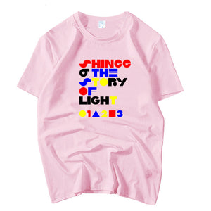 SHINEE 'The Story of Light' Text Graphic T-Shirt - Kpop FTW