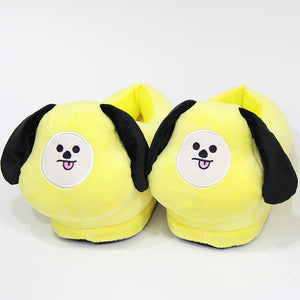 [BTS] BT21 Plush Slippers