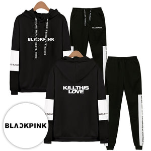 [BLACKPINK] KILL THIS LOVE HOODIE AND SWEATPANTS - Kpop FTW