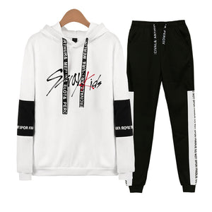 [STRAY KIDS] HOODIE AND SWEATPANTS