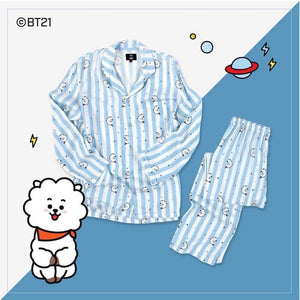 [BTS] BT21 OFFICIAL PAJAMAS SET- Limited Stock