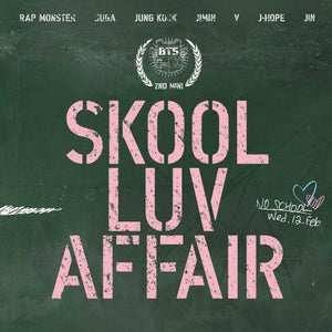 [BTS] 2ND MINI ALBUM - SKOOL LUV AFFAIR - Kpop FTW