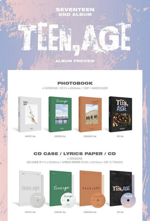 [SEVENTEEN] 2ND ALBUM PROJECT CHAPTER 3 - TEEN,AGE