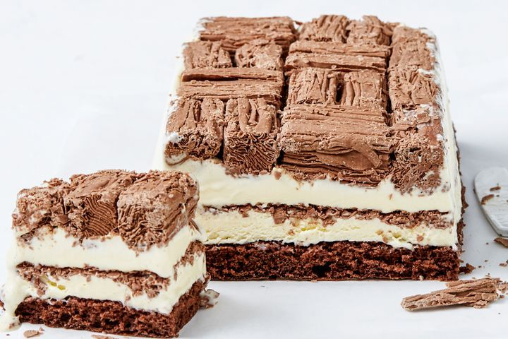 Feast On This Flake Filled Ice Cream Cake Matchbox