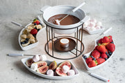 Trio Of Warm Chocolate Fondue