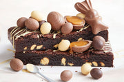 Blissful Caramilk Easter Brownies