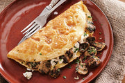 Super Tasty Mushroom and Mixed Herb Omelette