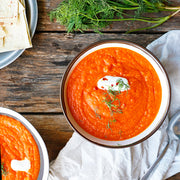 Spicy Carrot & Corn Soup