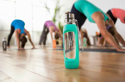 CONTIGO  Purity Glass Water Bottle Jade 591ml