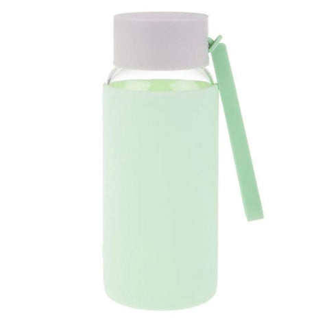 OASIS  Borosilicate Glass Water Bottle - Spearmint