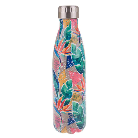 OASIS  S/S Double Wall Insulated Drink Bottle Botanical
