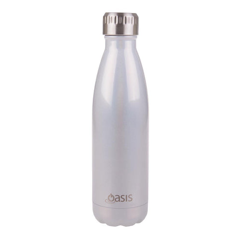 OASIS  S/S Double Wall Insulated Drink Bottle Pearl