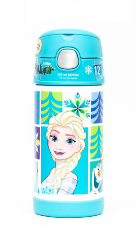 Thermos Funtainer Vacuum Insulated Drink Bottle Disney Frozen 355ml